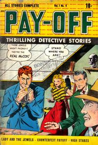 Cover for Pay-Off (D.S. Publishing, 1948 series) #v1#4