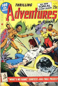 Cover Thumbnail for Thrilling Adventures in Stamps Comics (Youthful, 1953 series) #8