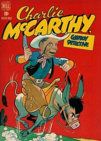 Cover for Charlie McCarthy (Dell, 1949 series) #1