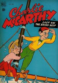 Cover Thumbnail for Charlie McCarthy (Dell, 1949 series) #3