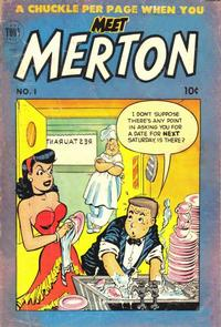 Cover Thumbnail for Meet Merton (Toby, 1953 series) #1