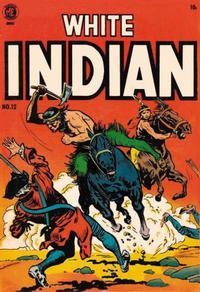 Cover Thumbnail for White Indian (Magazine Enterprises, 1953 series) #12 [A-1 #101]