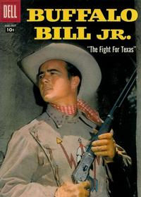 Cover Thumbnail for Buffalo Bill Jr. (Dell, 1958 series) #9