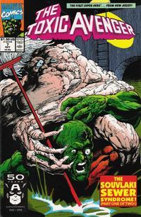 Cover Thumbnail for Toxic Avenger (Marvel, 1991 series) #7