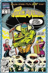 Cover Thumbnail for Toxic Avenger (Marvel, 1991 series) #9
