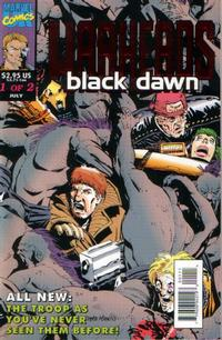 Cover Thumbnail for Warheads: Black Dawn (Marvel, 1993 series) #1