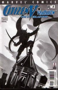 Cover Thumbnail for Citizen V and the V-Battalion: The Everlasting (Marvel, 2002 series) #2