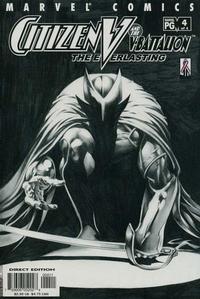 Cover Thumbnail for Citizen V and the V-Battalion: The Everlasting (Marvel, 2002 series) #4