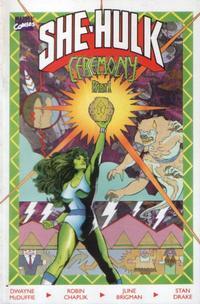 Cover Thumbnail for The Sensational She-Hulk In Ceremony (Marvel, 1989 series) #1