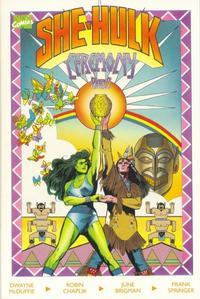 Cover Thumbnail for The Sensational She-Hulk In Ceremony (Marvel, 1989 series) #2