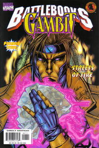 Cover Thumbnail for Gambit Battlebook: Streets of Fire (Marvel, 1998 series)