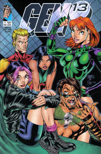 Cover Thumbnail for Gen 13 (Image, 1995 series) #1 [Thumbs Up Cover 1-B]