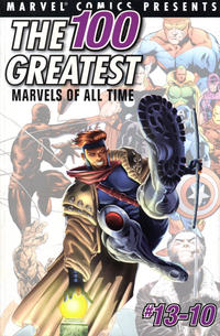 Cover Thumbnail for The 100 Greatest Marvels of All Time (Marvel, 2001 series) #4
