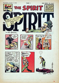 Cover Thumbnail for The Spirit (Register and Tribune Syndicate, 1940 series) #10/3/1948