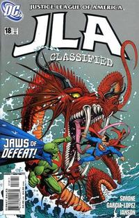 Cover Thumbnail for JLA: Classified (DC, 2005 series) #18