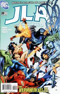 Cover Thumbnail for JLA: Classified (DC, 2005 series) #20 [Direct Sales]
