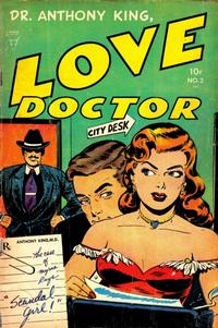 Cover Thumbnail for Dr. Anthony King, Hollywood Love Doctor (Toby, 1952 series) #2