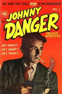 Cover Thumbnail for Johnny Danger (Toby, 1954 series) #1