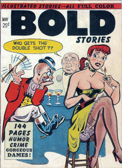 Cover for Bold Stories (Kirby Publishing Co., 1950 series) #nn [May]