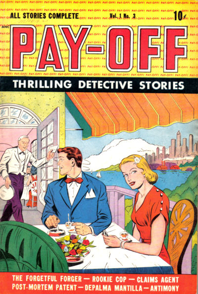 Cover for Pay-Off (D.S. Publishing, 1948 series) #v1#3