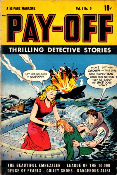 Cover for Pay-Off (D.S. Publishing, 1948 series) #v1#5