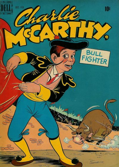 Cover for Charlie McCarthy (Dell, 1949 series) #4