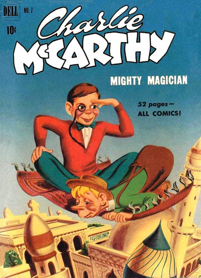 Cover for Charlie McCarthy (Dell, 1949 series) #7