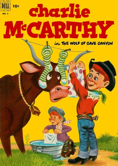 Cover for Charlie McCarthy (Dell, 1949 series) #9
