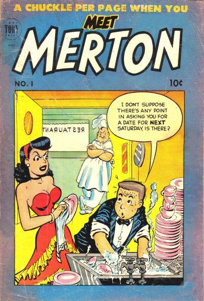 Cover for Meet Merton (Toby, 1953 series) #1