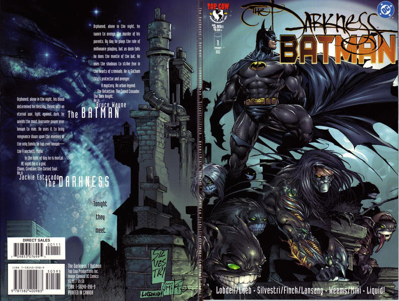 Cover for The Darkness / Batman (Image, 1999 series) #1