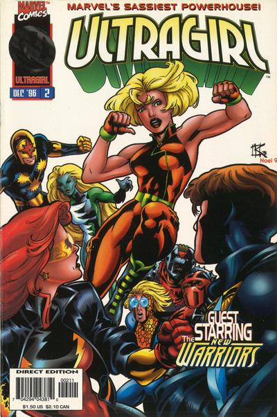 Cover for Ultragirl (Marvel, 1996 series) #2