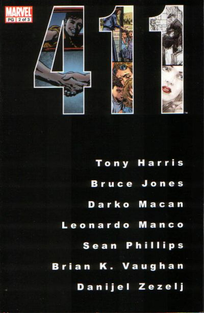 Cover for 411 (Marvel, 2003 series) #2