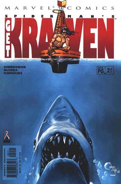Cover for Spider-Man: Get Kraven (Marvel, 2002 series) #2