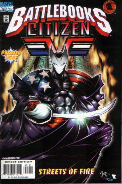 Cover for Citizen V Battlebook: Streets of Fire (Marvel, 1998 series)