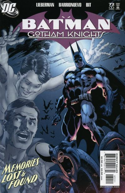 Cover for Batman: Gotham Knights (DC, 2000 series) #72