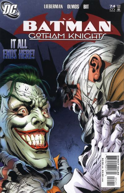 Cover for Batman: Gotham Knights (DC, 2000 series) #74