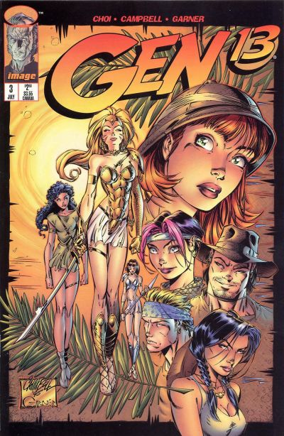 Cover for Gen 13 (Image, 1995 series) #3
