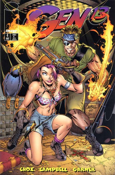 Cover for Gen 13 (Image, 1995 series) #4