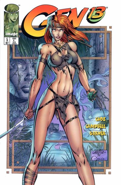 Cover for Gen 13 (Image, 1995 series) #5