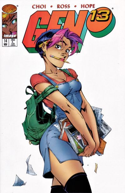 Cover for Gen 13 (Image, 1995 series) #14 [Newsstand]