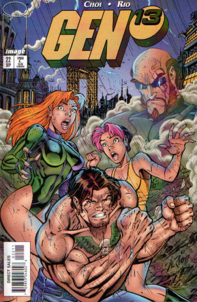 Cover for Gen 13 (Image, 1995 series) #22