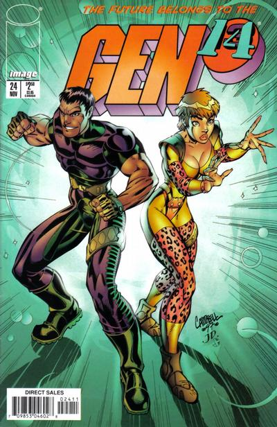 Cover for Gen 13 (Image, 1995 series) #24