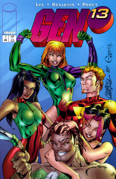 Cover for Gen 13 (Image, 1995 series) #-1