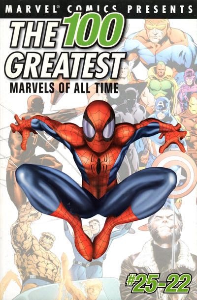 Cover for The 100 Greatest Marvels of All Time (Marvel, 2001 series) #1