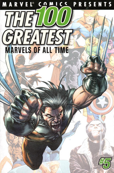Cover for The 100 Greatest Marvels of All Time (Marvel, 2001 series) #6