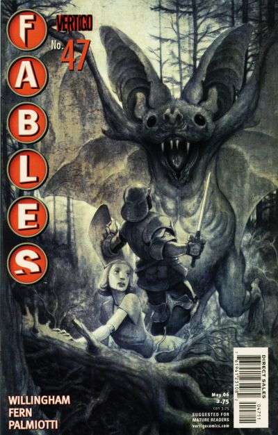 Cover for Fables (DC, 2002 series) #47