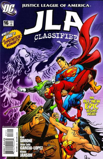 Cover for JLA: Classified (DC, 2005 series) #16