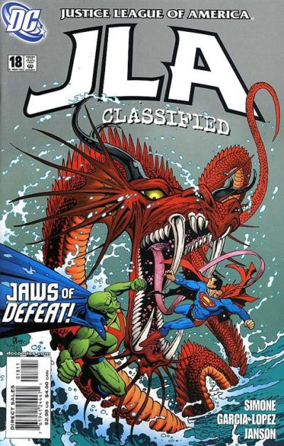 Cover for JLA: Classified (DC, 2005 series) #18 [Direct Sales]