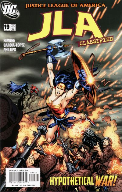 Cover for JLA: Classified (DC, 2005 series) #19 [Direct Sales]