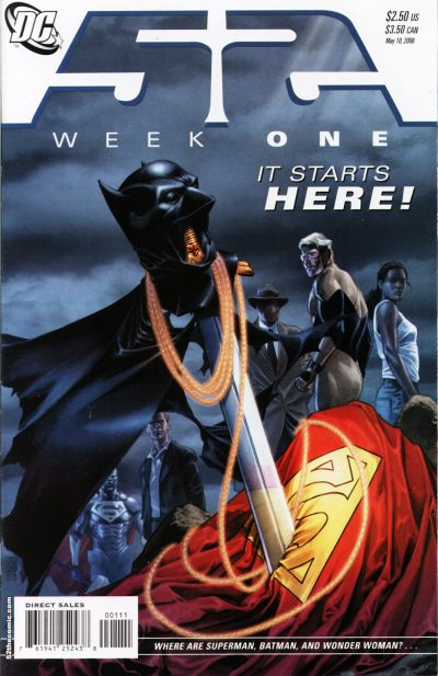 Cover for 52 (DC, 2006 series) #1 [Direct Sales]
